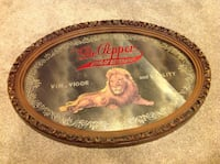 Vintage Dr Pepper oval mirror King of beverages Calgary, T2C 0P5
