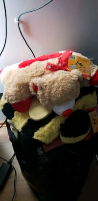 Pillow pets and other stuffed animals