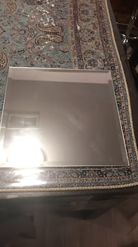 rectangular gray metal framed mirror Vienna, 22180