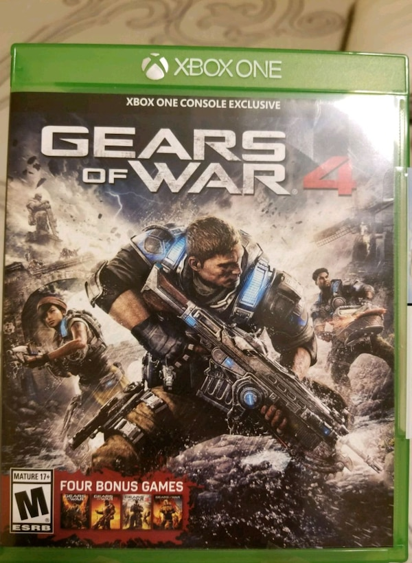 Gears of War 4 - Xbox One(previous games included)