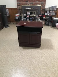 black wooden single pedestal desk Oxon Hill, 20745