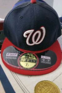 Washington Nationals Fitted Cap