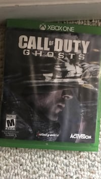 Xbox One call of duty ghosts game case