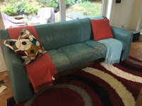blue and brown fabric sofa set Hartsdale, 10530