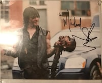 Autographed picture of Norman Reedus Stillwater, 74074