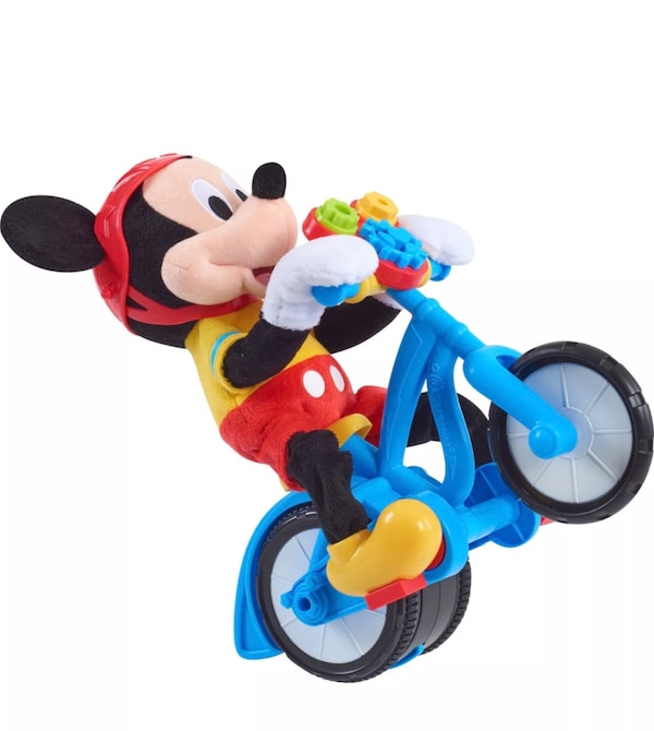 Boy Christmas Toy.Mickey Mouse Singing Biking Kids Gift Boy Toddler Action Christmas Toy