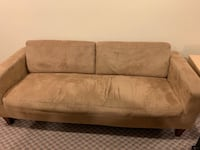 Sofa love seat and chair in great shape. Micro fibre fabric Surrey, V3S 4Y5