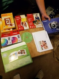 Photo Printer ink, lots of photo paper, how-to gui Vancouver, 98684