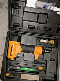 orange and black Bostitch nail gun in case