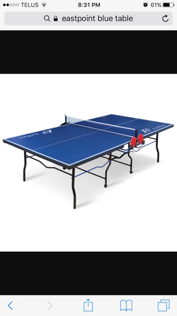East Point Ping Pong Table