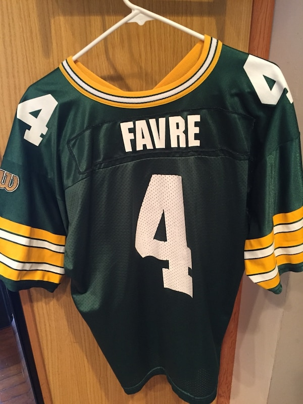 new product cb89a c5a17 Brett Favre Green Bay Packers Jersey - Youth XL