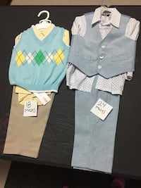 toddler's blue and white dress McAllen, 78501