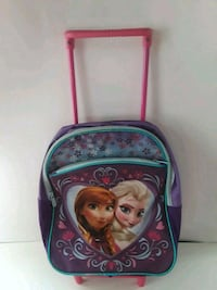 Frozen Elsa Anna bookbag luggage wheels & handle Wrightsville, 17368