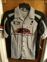 Mens size Small Harley-Davidson button downs