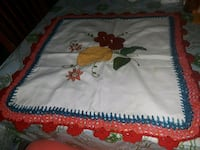 white, red, and green floral yazma Mesa, 85210