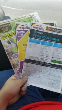 three flyer papers