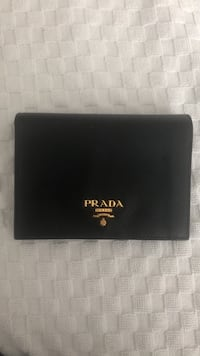 Black prada bi-fold leather wallet Toronto, M2M 4B1