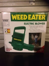 weed eater electric blower box Calgary, T1Y 7E1