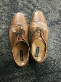 pair of brown leather Bostonian loafers 382 mi
