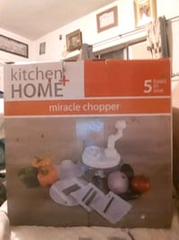 kitchen home miracle chopper 5 tools en one