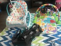 Rocker and play mat plus harness Baltimore, 21217