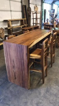 Bar Table & 4 Chairs