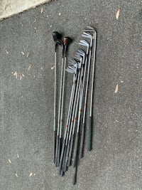 12 Spaulding clubs and 3 Wilson woods, right handed, good condition, grips are great. Make best offer North Potomac, 20878