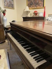 George Steck baby grand Piano