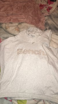 Gray and white pullover Bench hoodie Waterloo, N2L 3Z6