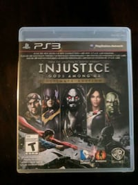 Sony PS3 Injustice Gods Among Us game case London, N6H 3N9
