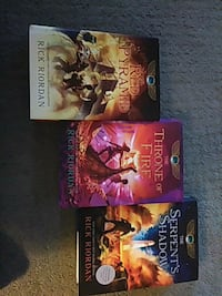 The Kane chronicles book 1-3