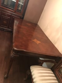 Solid wood table with 6 chairs for sale Mississauga, L5T 1N8