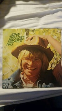 John Denver's greatest hits vinyl album Alexandria, 22301
