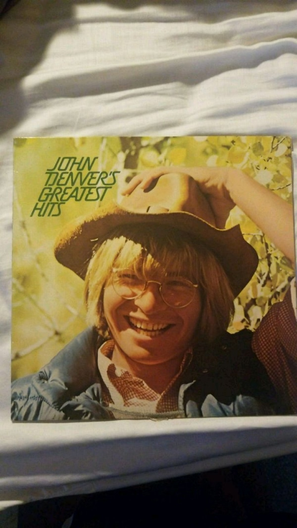 John Denver's greatest hits vinyl album