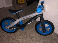 toddler's blue and black bicycle Alpharetta, 30022