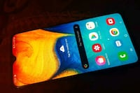Galaxy A20 by metro pcs... its unlocked to any sim ..and network
