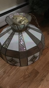 Antique  gold and white ceiling lamp!!!!