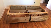 Wicker Bed Frame Coral Gables, 33134