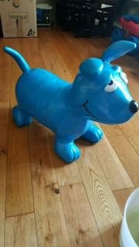Inflatable Dog Ride on Toy
