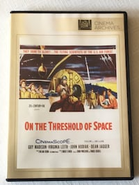 On the Threshold of Space 1956 movie DVD  Toronto, M2M 0A1