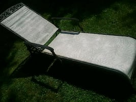 ALUMINUM POOL CHAISE LOUNGE c more info