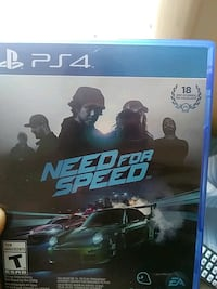 New ps4 game need for speed  Lexington, 40511