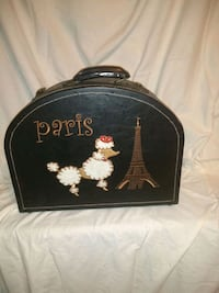 Poddle Case leather vintage 20 inches