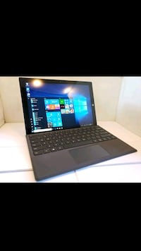 black laptop computer with keyboard Los Angeles, 90744