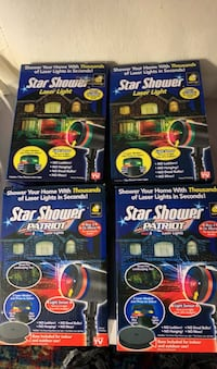 Star shower laser lights (4) price is for one Dumfries, 22026