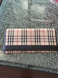 BURBERRY CHECKERED WALLET Coquitlam