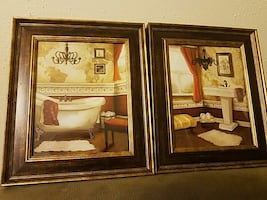 Bathroom Picture Frames