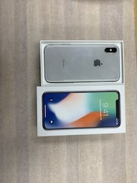 silver iPhone X withbox Sunnyvale, 95054