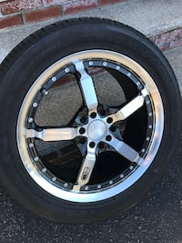 Set of 4 wheels with Nexen N3000  tires and HD Tuning rims 245/45/r17 Norwood, 02062