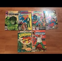 Spider Man/ Super Man/ Hulk Antique DC/Marvel Comi Guelph, N1G 4X9